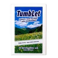 TumbLet Tørretumbler-ark uden parfume