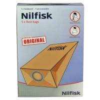 Nilfisk støvsugerposer til GS/GM/80/90 6,25 liter brun