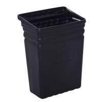 Spand, Tina Trolleys, 24x35x47cm, sort, plast, stor *Denne vare tages ikke retur*