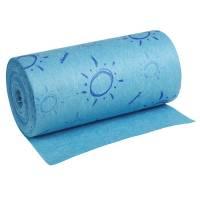 Aftørringsklud, Vileda Quick'n Dry, 250x110mm, blå