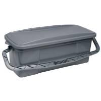 Moppe box til Vikan ErgoClean complete med låg 40cm i grå