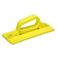 Håndtag til skurefiber, Vikan, 235x100x80mm, gul, PP *Denne vare tages ikke retur*