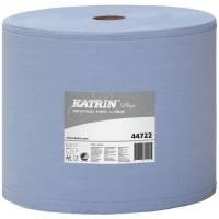 Katrin Plus Værkstedsrulle 2-lags 26cmx350m blå