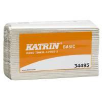 Katrin Basic håndklædeark 2-lags 24x33x9,50cm natur