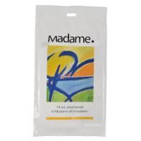 Madamepose LDPE 35my 25x37cm 5L  hvid