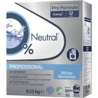 Neutral Professional vaskepulver hvidt 8,55 kg