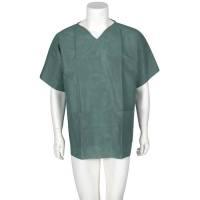 Bluse uden manchet medium grøn