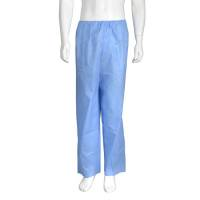 Koloskopi bukser engangs usteril lange ben small blå