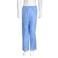 Koloskopi bukser engangs usteril lange ben XL blå