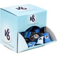 V6 tyggegummi 2-pak assorteret i displayboks 500g, 170 pak
