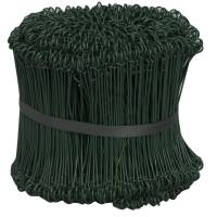 Stålsnøre stål 15 cm grøn