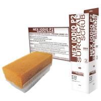 NEX Neglebørste brun jod med neglerenser steril engangs