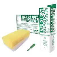 NEX neglebørste tør steril med neglerenser engangs hvid