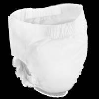 Bambo Nature Pants Børneble bukseble XL 6 hvid med motiv