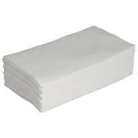 Frokostserviet, 1-lags, 1/8 fold, 30x33cm, hvid, 100% nyfiber