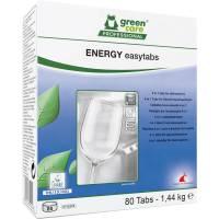 Green Care Professional Energy Easytabs Opvasketabs, 4-in-1, 80 stk