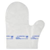 Handske, Clean hands, One size, klar, HDPE, til rene hænder kit/sæt