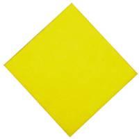 Alt-mulig-klud, gul, perforeret, 38x38 cm