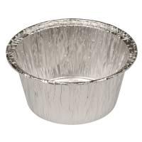 Aluminuimsform rund m rullekant 115 ml diameter 3,70 cm
