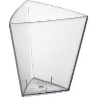 Amuse-Bouche, Duni, 11 cl, klar, PS, trekantet *Denne vare tages ikke retur*