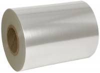 Lågfolie, 500m x 325mm, Ø23cm, 40 micron, klar, PET, peelable