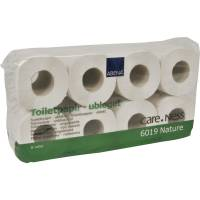 Care-Ness Nature toiletpapir 2-lags natur