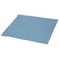 Tandlægeserviet uden halsudskæring 1-lags 37x38cm blå