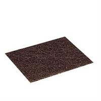 Håndtag til skurefiber, 3M Scotch-Brite 82, 110x140mm, brun, glasfiber/resin