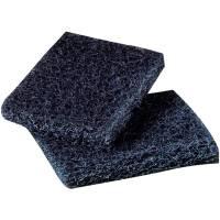 Skurefiber, 3M Scotch-Brite 450, 158x23,5x95mm, blå, nylon/plast, grov skureeffekt