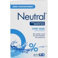 Neutral Compact vaskepulver til hvid vask 11.2kg