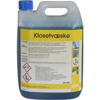 Liva Klosetvæske uden formalin velduftende 2,5 liter blå