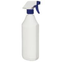 Doseringsdunk, 750 ml, hvid, plast, uden tryk, med forstøver
