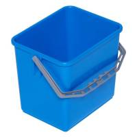Inventarspand, Tina Trolleys, 24x19x22cm, 6 l, blå, plast, med hank