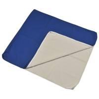 Techmaflex betræk til puslemadras 74x88x3cm blå