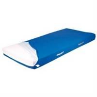 Techmaflex comfort madras med betræk 90x200x14cm blå
