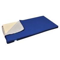 Techmaflex børnemadras betræk 47x115x5cm blå