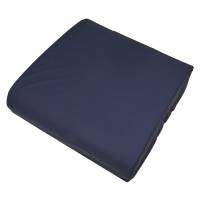 Techmaflex kørestolspude betræk 45x45cm blå