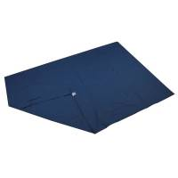 Techmaflex dynebetræk 140x200cm blå