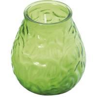 Bolsius lysbowle 70 timer Ø9,5cm 100% paraffin limegrøn