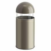Wesco Big Cap affaldsspand 120 liter sølv