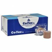 Kortstræksbind, selvhæftende, Coflex NL, hudfarvet, 2,50 cm x 4,50 m