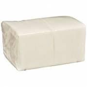 Abena papirvaskeklud 1-lags 20x30cm hvid