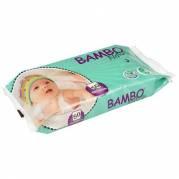 Bambo Nature vådserviet uden farve/parfume med folielåg 16x20cm 50stk