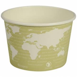 World Art bæger 7,72cm Ø11,45cm 470 ml PLA-Pap grøn