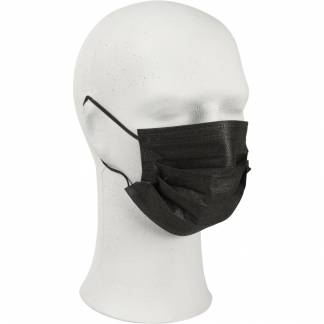 Ansigtsmaske med øreelastikker type IIR 3-lags sort