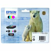 InkCart/26Ser Polar Bear Multi 4 clrs RS