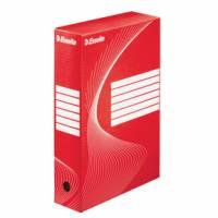 Esselte arkivæske Vivida FSC Boxy 100mm rød