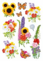 Stickers - Decor blomster