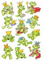 Stickers - Decor frø