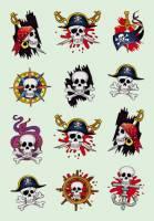 Stickers - Decor pirater